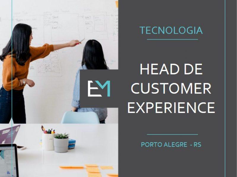 head de customer experience - tecnologia - porto alegre - evermonte